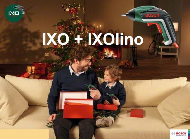 BOSCH Σετ Κατσαβίδι Ixo με Ixolino 06039A800K