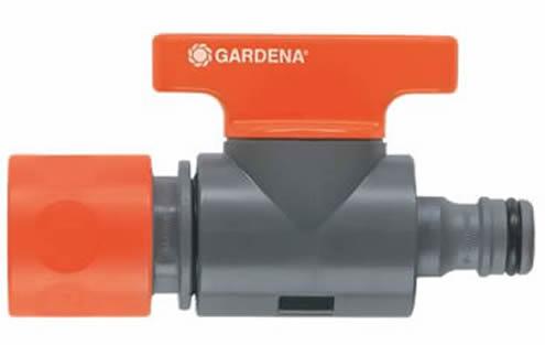 Ταχυσύνδεσμος με βάνα Gardena (2977)