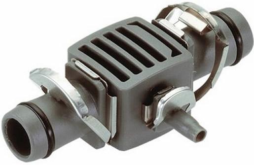 """Συστολική σύνδεση T 13 mm (1/2"""") - 4,6 mm (3/16"""") Gardena (8333)"""
