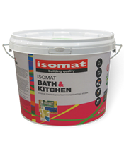 Isomat BATH and KITCHEN 10Lt Υψηλής ποιότητας αντιμουχλικό χρώμα για εσωτερική χρήση