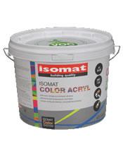 Isomat COLOR ACRYL 9Lt Ακρυλικό χρώμα για εξωτερική χρήση