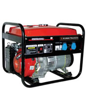 Μονοφασική Γεννήτρια 4,8KVA (3,84KW) Bενζίνης KUMATSUGEN GB4000