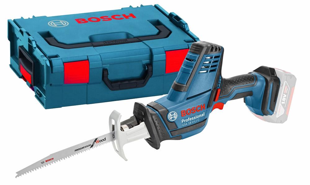 Σπαθόσεγα μπαταρίας Bosch GSA 18 V-LI C Professional και L-Boxx 06016A5001