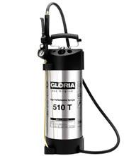 Ανοξείδωτος ψεκαστήρας προπίεσης με μανόμετρο 10 λίτρων GLORIA 510 T