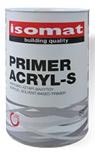Isomat PRIMER ACRYL S Ακρυλικό αστάρι διαλυτού