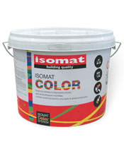 Isomat COLOR 9Lt Υψηλής ποιότητας πλαστικό χρώμα