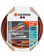 """Λάστιχο 15 mm (5/8"""") 25 μέτρα Gardena Comfort High Flex (18075)"""