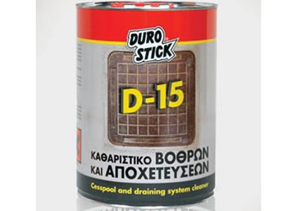 Aποφρακτικό υγρό για σωλήνες και σιφώνια DUROSTICK D-15 5KG