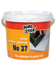 Αδιάβροχη ρευστή κόλλα πλακιδίων DUROSTICK No 37