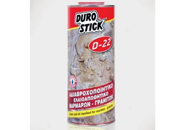 Αδιαβροχοποιητικό - ελαιαπωθητικό μαρμάρων και γρανιτών DUROSTICK D-22