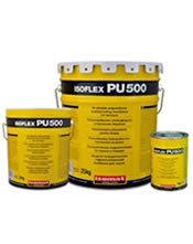 Isomat ISOFLEX-PU 500 25 Kg Πολυουρεθανικό επαλειφόμενο, στεγανωτικό δωμάτων