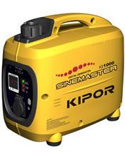 Μονοφασική Γεννήτρια 1KVA (800W) Bενζίνης Κλειστού Τύπου KIPOR IG 1000