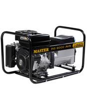 Μονοφασική Γεννήτρια 8KVA (6,4KW) Bενζίνης Master RS 8000 AVR