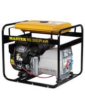 Τριφασική Γεννήτρια 13,5KVA (10,8KW) Bενζίνης Master RS 13500 E3PH AVR