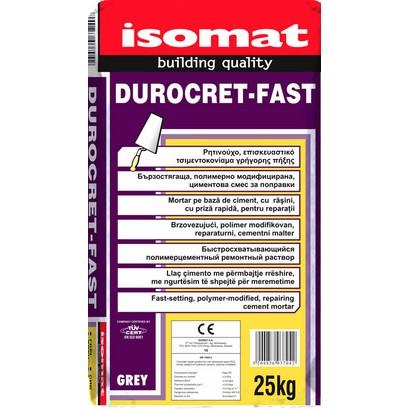 Isomat DUROCRET FAST Ρητινούχο επισκευαστικό τσιμεντοκονίαμα γρήγορης πήξης