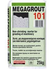 Isomat MEGAGROUT 101 Χυτό, μη συρρικνούμενο τσιμεντοκονίαμα υψηλών αντοχών, για πακτώσεις μηχανημάτων