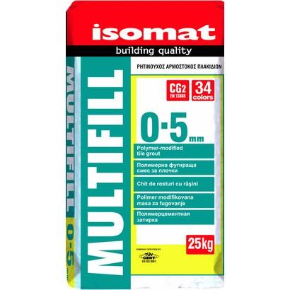 Isomat MULTIFILL 0-5  Έγχρωμος αρμόστοκος πλακιδίων ΛΕΥΚΟ