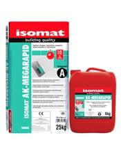 Isomat AK-MEGARAPID Ταχύπηκτη, εύκαμπτη κόλλα πλακιδίων 2 συστατικών