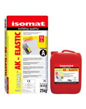 Isomat AK-ELASTIC - Υψηλής ελαστικότητας κόλλα πλακιδίων 2 συστατικών