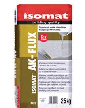 Isomat AK-FLUX - Ρητινούχα κόλλα πλακιδίων, πλήρους επιπέδωσης