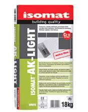 Isomat AK-LIGHT - Υψηλής ποιότητας, ελαφριά ρητινούχα κόλλα πλακιδίων