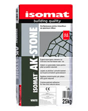 Isomat AK-STONE - Χονδρόκοκκη κόλλα πλακιδίων και φυσικών λίθων