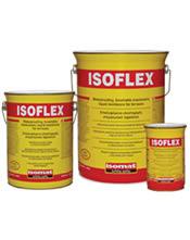 Isomat ISOFLEX Λευκό 25 kg, Επαλειφόμενο ελαστομερές, στεγανωτικό ταρατσών