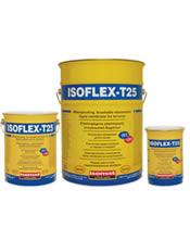 Isomat ISOFLEX-T25 Επαλειφόμενο ελαστομερές, στεγανωτικό δωμάτων
