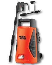 Ηλεκτρικό Πλυστικό (100bar - 360lt - 1300W) Black and Decker PW1300TD