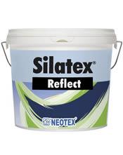 Πιστοποιημένη ανακλαστική ελαστομερής υγρομονωτική βαφή με θερμομονωτικές ιδιότητες Neotex Silatex Reflect
