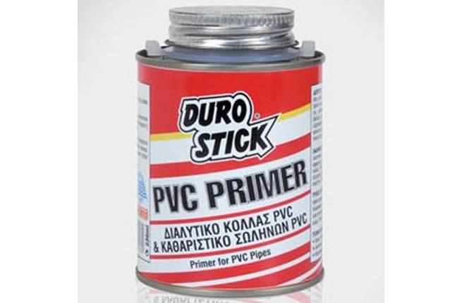 DUROSTICK PVC PRIMER 236ml Για σωλήνες PVC