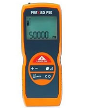 Μετρητής Αποστάσεων Λέιζερ 50m PREXISO P50
