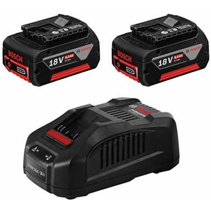 Σετ Bosch GBA 18V Φορτιστή GAL 1880 CV και 2 Μπαταρίες 18V 6.0Ah 1600A00B8L