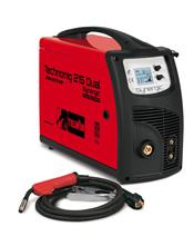Ηλεκτροκόλληση Inverter Σύρματος 220A TELWIN TECHNOMIG 215 DUAL SYNERGIC