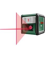 Λέιζερ διασταυρούμενων ακτίνων Bosch QUIGO III με Στήριγμα 0603663500