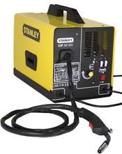 Ηλεκτροκόλληση με ή χωρίς αέριο MIG-MAG-MOG (2,5KVA - 120Amp) Stanley VIP M165