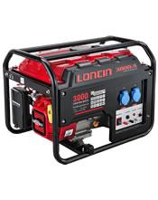 Μονοφασική Γεννήτρια 3,0KVA (2,5KW) Bενζίνης Loncin LC-3000-A