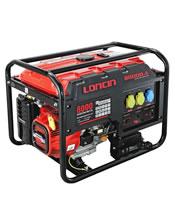 Μονοφασική Γεννήτρια 8,5KVA (6,5KW) Bενζίνης Loncin LC 8000-DA