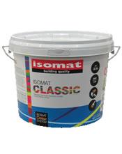 Isomat CLASSIC 0,75Lt Υψηλής ποιότητας 100% πλαστικό χρώμα για εσωτερική χρήση
