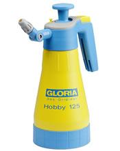 Πλαστικός ψεκαστήρας προπίεσης 1,25 λίτρα GLORIA Hobby 125