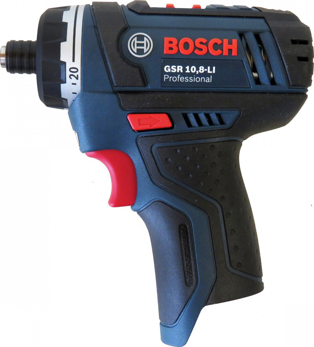 Κατσαβίδι Μπαταρίας  Bosch GSR 10.8-LI Solo Professional (060199290C)