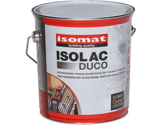 Isomat ISOLAC DUCO Ντουκόχρωμα υψηλής σκληρότητας και γυαλάδας για μέταλλα