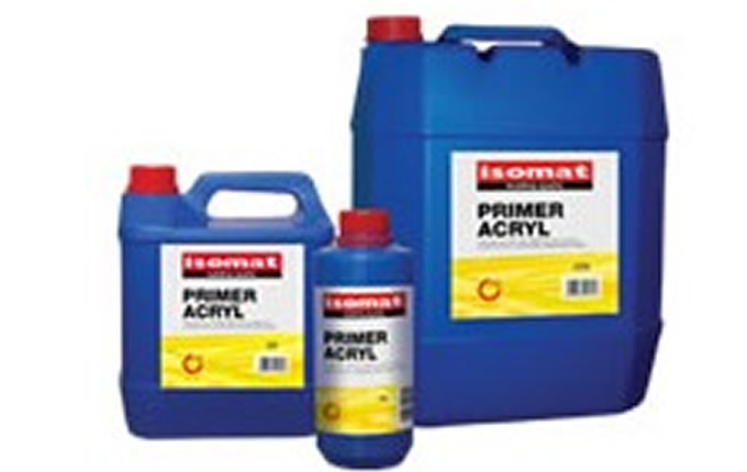 Isomat PRIMER ACRYL 100% Σιλικονούχο ακρυλικό μικρονιζέ αστάρι νερού