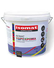 Isomat ΥΔΡΟΧΡΩΜΑ 3Lt Υδατοδιαλυτό χρώμα υψηλής καλυπτικότητας για εσωτερική χρήση