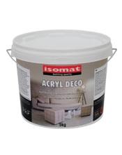 ISOMAT ACRYL DECO. Διακοσμητική επικάλυψη για δάπεδα και τοίχους.