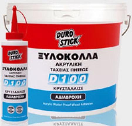 Ακρυλική ξυλόκολλα ταχείας πήξεως με αντοχή στην υγρασία DUROSTICK D-100