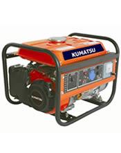 Μονοφασική Γεννήτρια 1,2KVA (0,96KW) Bενζίνης KUMATSUGEN GB1500