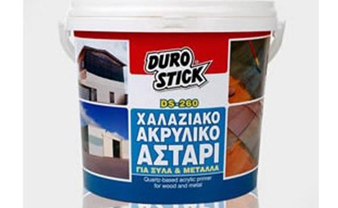 Χαλαζιακό ακρυλικό αστάρι για ξύλα και μέταλλα DUROSTICK DS-260 QUARTZ PRIMER