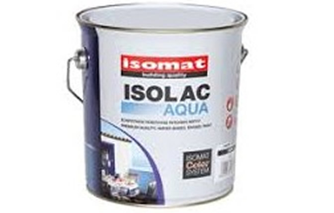 Isomat ISOLAC AQUA Εξαιρετικής ποιότητας ριπολίνη νερού 0,75LT