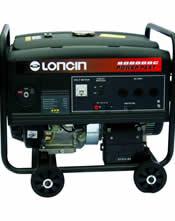 Μονοφασική Γεννήτρια με Μίζα 8KVA (6,4KW) Bενζίνης Loncin LC-8000DDC